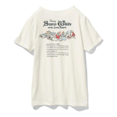 やわらか素材のプリントTシャツ 7人のこびと