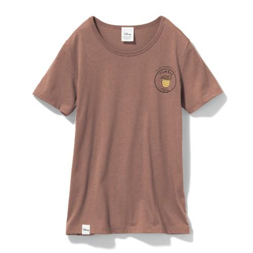やわらか素材のプリントTシャツ プーさん