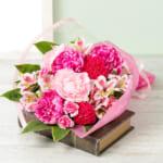 イイハナ・ドットコム 花束「芍薬美人~桜色重ね~」