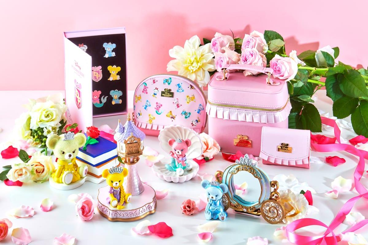 プリンセスベア勢揃い!ディズニーストア Disney Princess BEAR by UniBEARsityアイテム