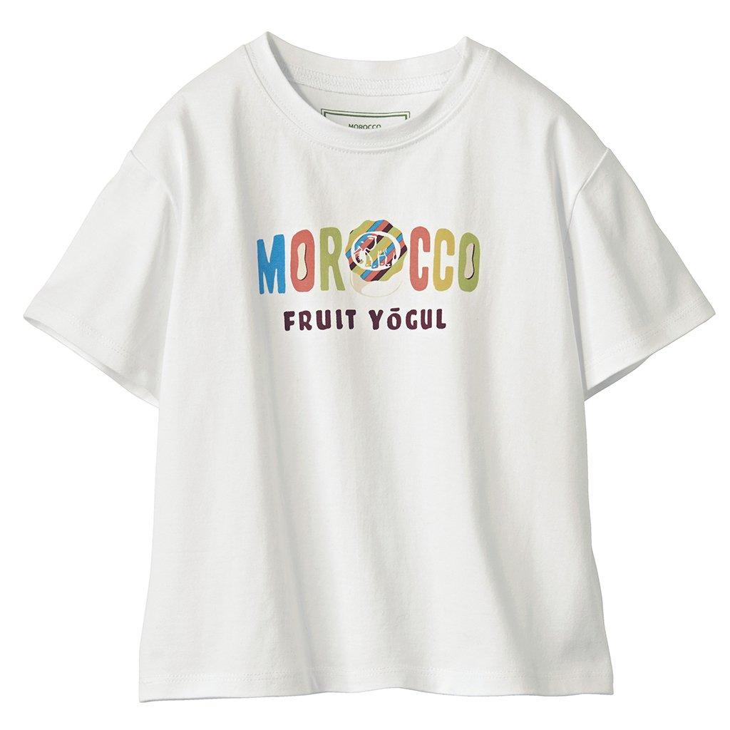 【キッズ】モロッコフルーツヨーグルコラボTシャツ