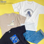 PLAZA「PEANUTS」×「CONVERSE(コンバース)」コラボレーションTシャツ