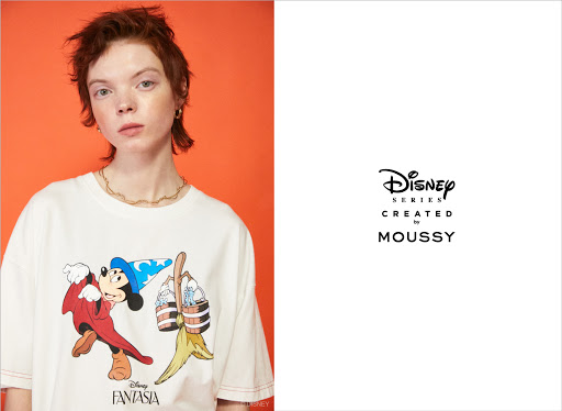 Disney SERIES CREATED by MOUSSY 2021 SUMMER COLLECTION メイン