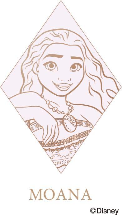 ディズニープリンセス展「Disney Ultimate Princess Celebration WHAT IS LOVE ? 〜輝くヒミツは、プリンセスの世界に。〜」モアナ