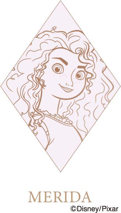 ディズニープリンセス展「Disney Ultimate Princess Celebration WHAT IS LOVE ? 〜輝くヒミツは、プリンセスの世界に。〜」メリダ