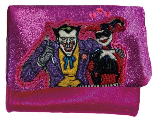 tamaoworld コラボ 刺繍ミニ財布