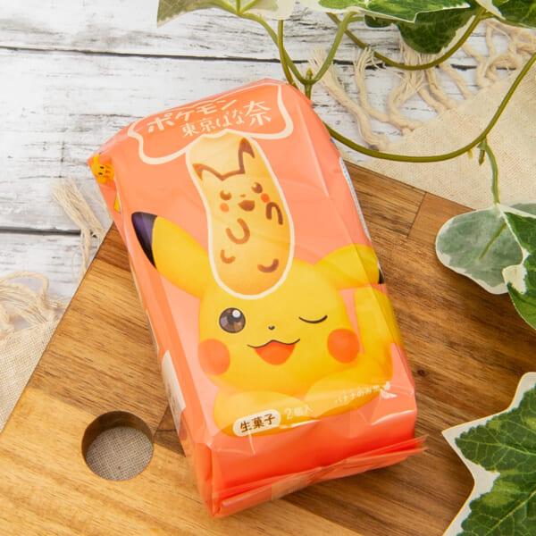 『ピカチュウ東京ばな奈「見ぃつけたっ」バナナのみ風』2個入 パッケージ6
