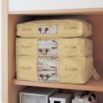 防ダニ・抗菌防臭の押し入れ用布団収納袋
