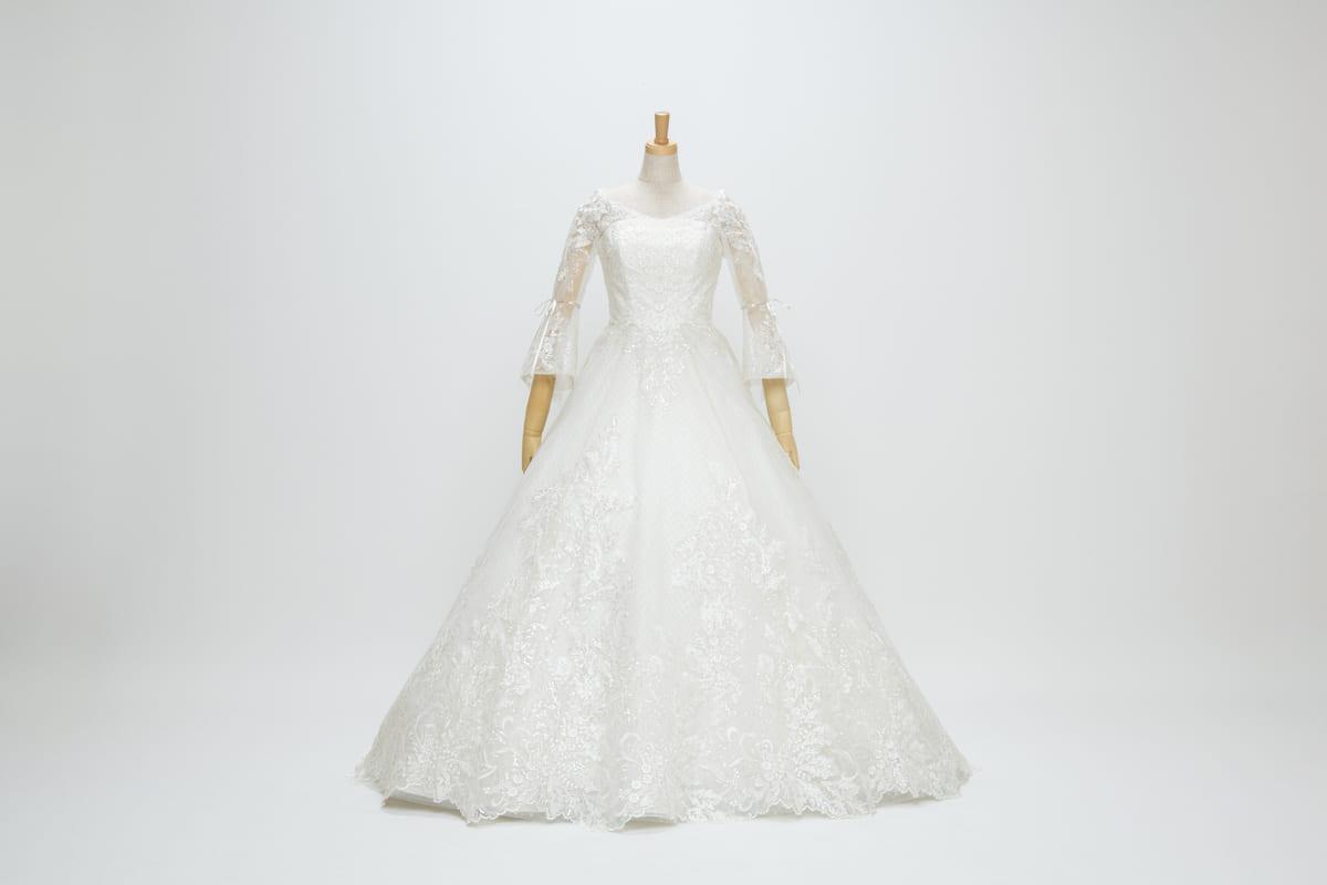 東京ディズニーシー・ホテルミラコスタ「ディズニー・フェアリーテイル・ウェディング」オリジナルドレス ベッラファータ