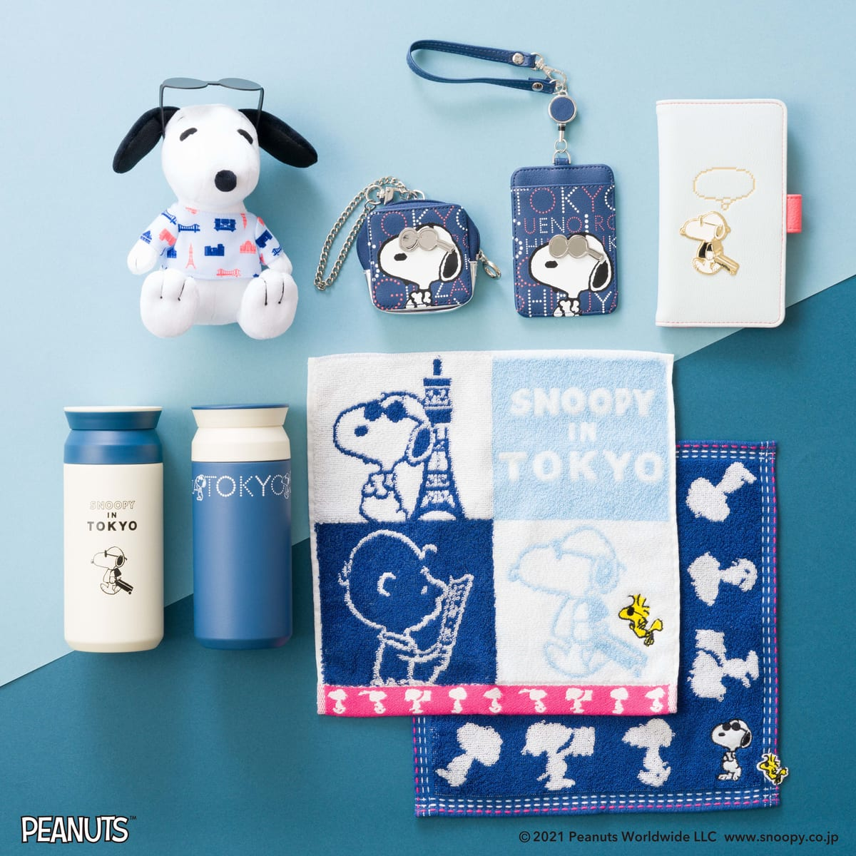 Afternoon Tea×PEANUTS「SNOOPY IN TOKYO」モチーフ コラボレーションアイテム