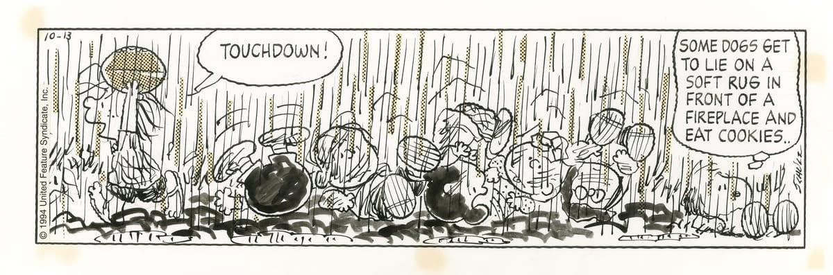 泥まみれの青春。1994-10-13