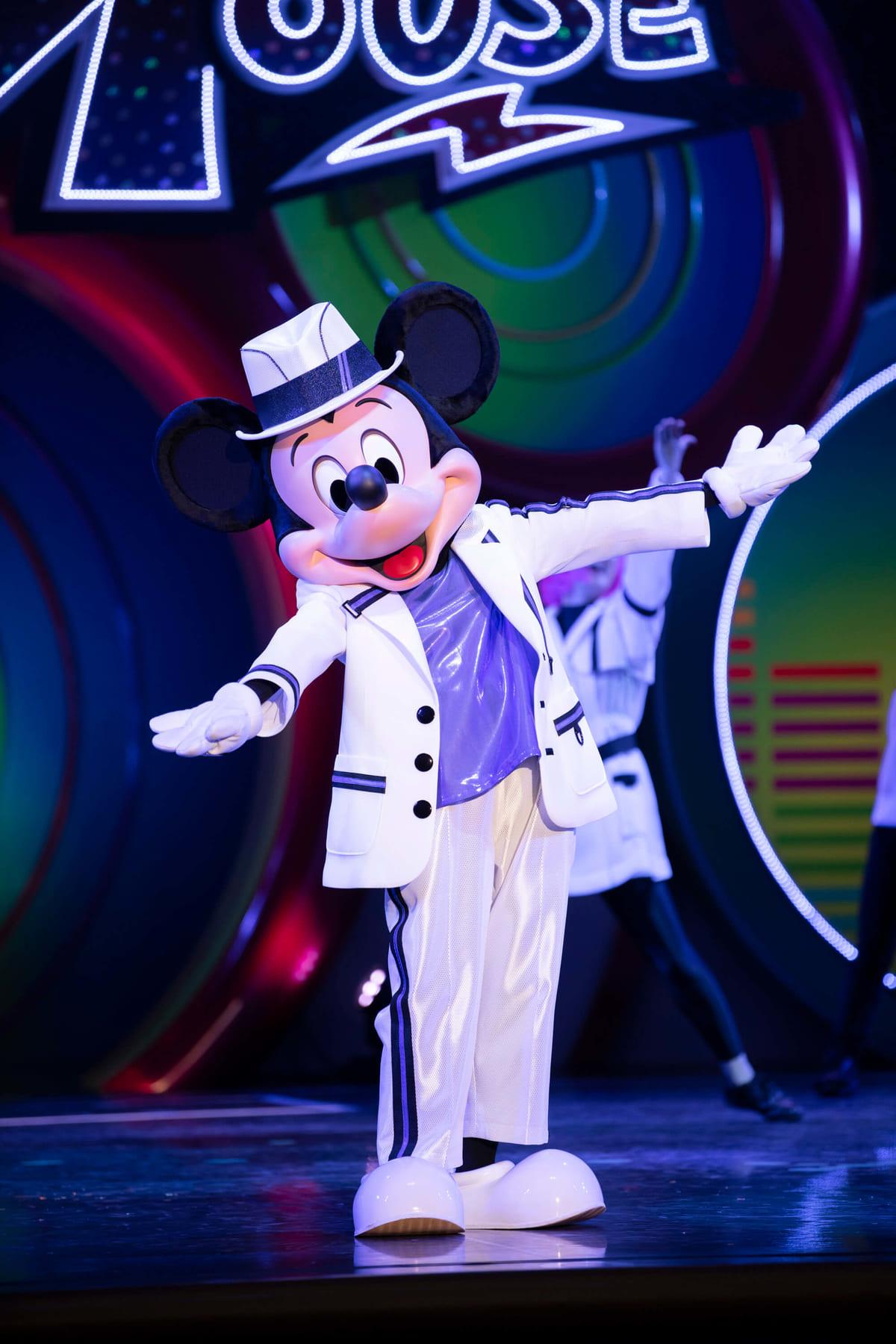 「クラブマウスビート」ミッキーマウス挨拶