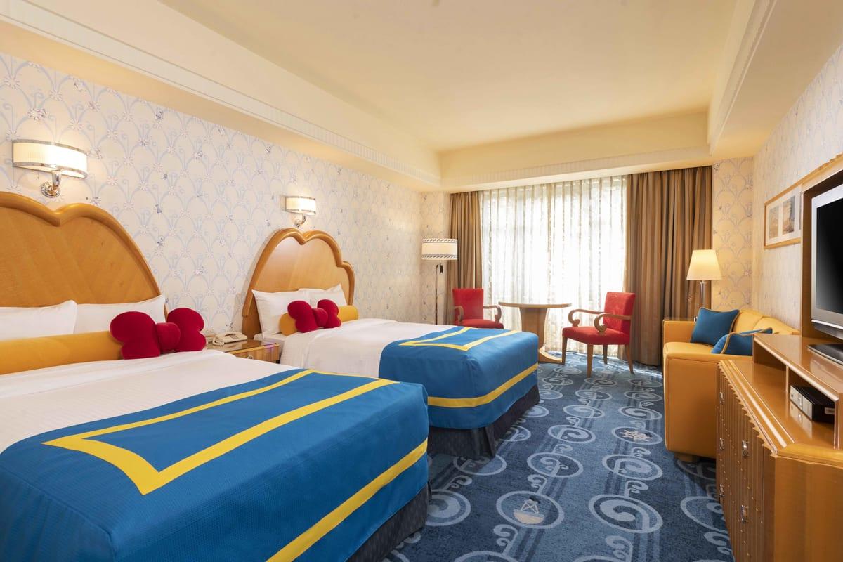 ディズニーアンバサダーホテル 「ドナルドダック」ルーム