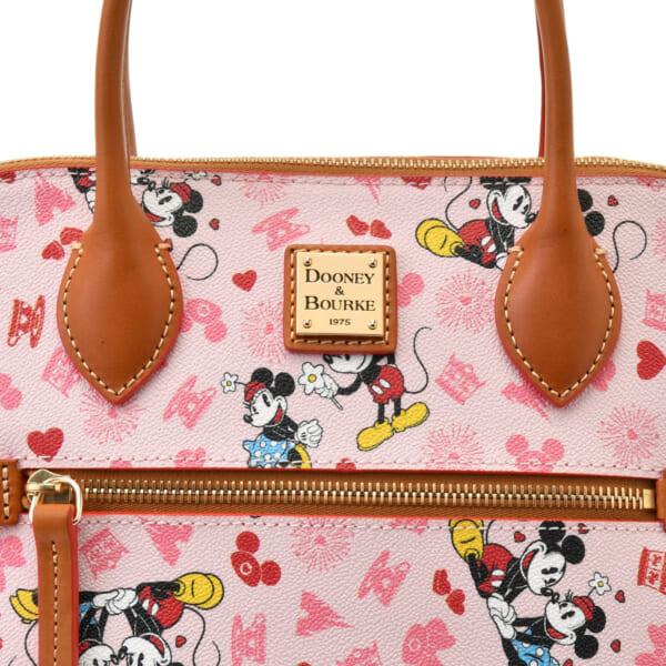 サッチェルバッグ 2WAY <ミッキーマウス&ミニーマウス>_3