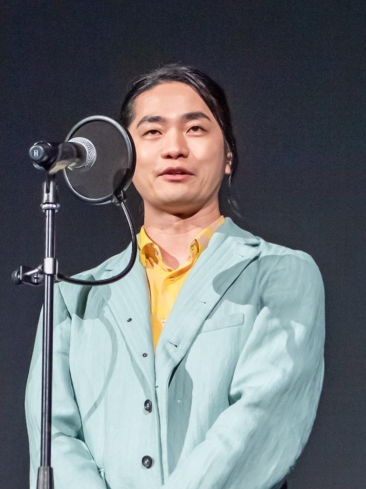 『劇場版 七つの大罪 光に呪われし者たち』の完成披露プレミア上映会 福山潤さん
