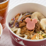 東京ディズニーランド「プラズマ・レイズ・ダイナー」牛カルビとシュリンプの冷やしうどんセット