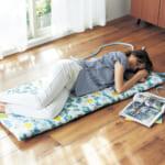接触冷感のひんやりごろ寝マット 使用イメージ