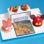 ディズニーアンバサダーホテル「ハイピリオン・ラウンジ」ファン・デコ・デザート「ホワイトチョコレートムースとストロベリームース」
