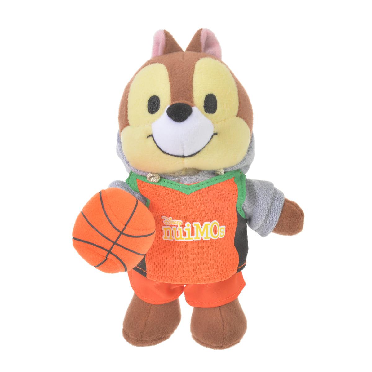 nuiMOs ぬいぐるみ専用コスチューム バスケットボールユニフォームセット ブルー