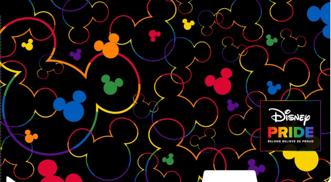 The Walt Disney Company's Pride collection マスクケース