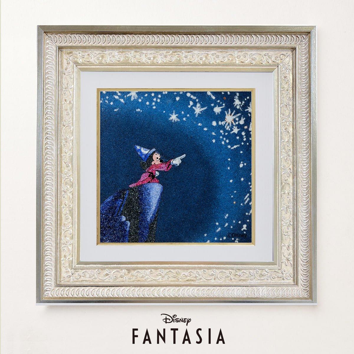 ライセンス商品からもショップディズニーのアニバーサリーにふさわしいゴージャスなジュエリー絵画が登場