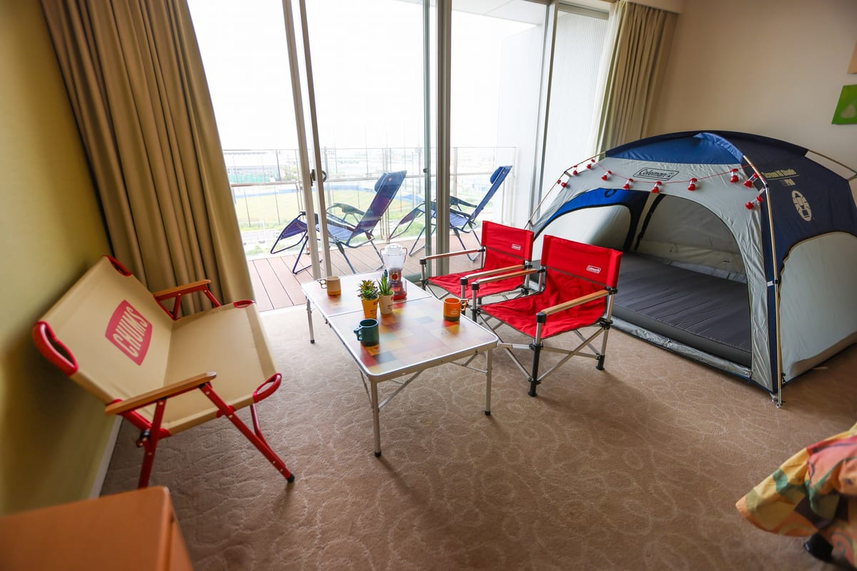 SPA&HOTEL舞浜ユーラシア「1日1室限定【キャンプルーム】」2