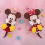 ミッキー&ミニー 赤いほっぺ スペシャルふわふわころりんぬいぐるみ