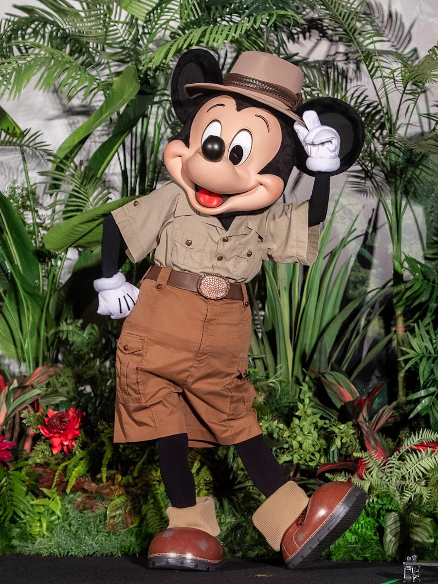 映画『ジャングル・クルーズ』日本出稿記念完成披露試写会 ミッキーマウス3