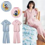 綿100%半袖開襟パジャマ
