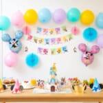 東京ディズニーリゾート「Disney Birthday @Home」デコレーションキット セット内容