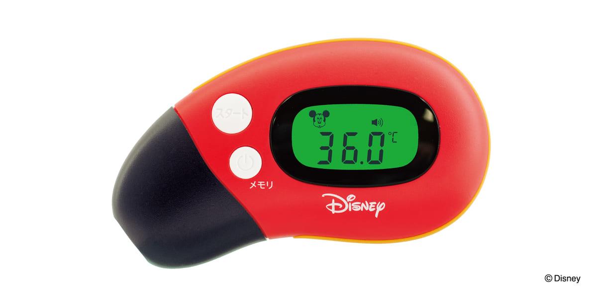 ケイジェイシー『さっと測れる2way体温計/ミッキーマウス』2