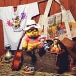 覆面姿のプーさんがキュートな「Western Pooh」シリーズ