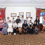 第11期「大阪育英会USJ奨学金制度(給付型)」認定式