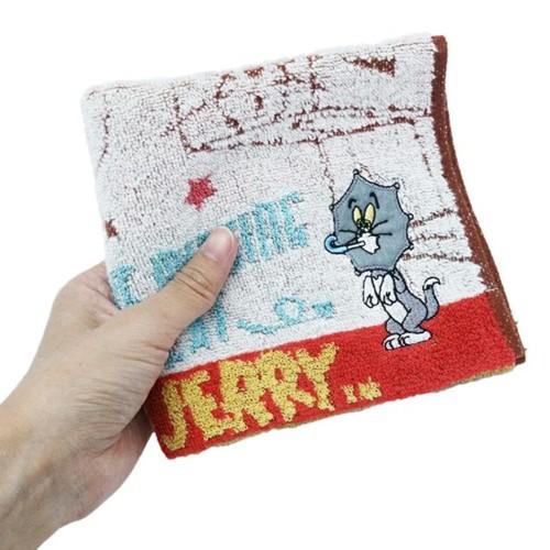ベルメゾン「トムとジェリー」アップリケ刺繍タオル13