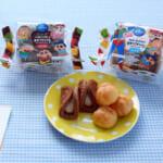 『クレヨンしんちゃん』モンテール コラボレーション「おやつプチシュー(ミルク味)」「おやつワッフル(チョコ味)」