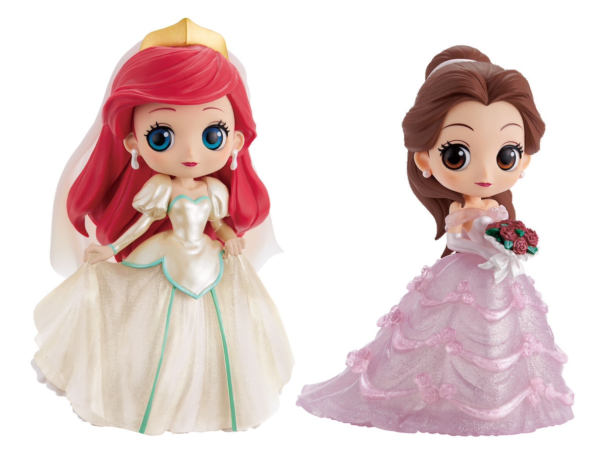 Q posket Disney Characters -Dreamy Style Glitter Collection-vol.1 アリエル ベル