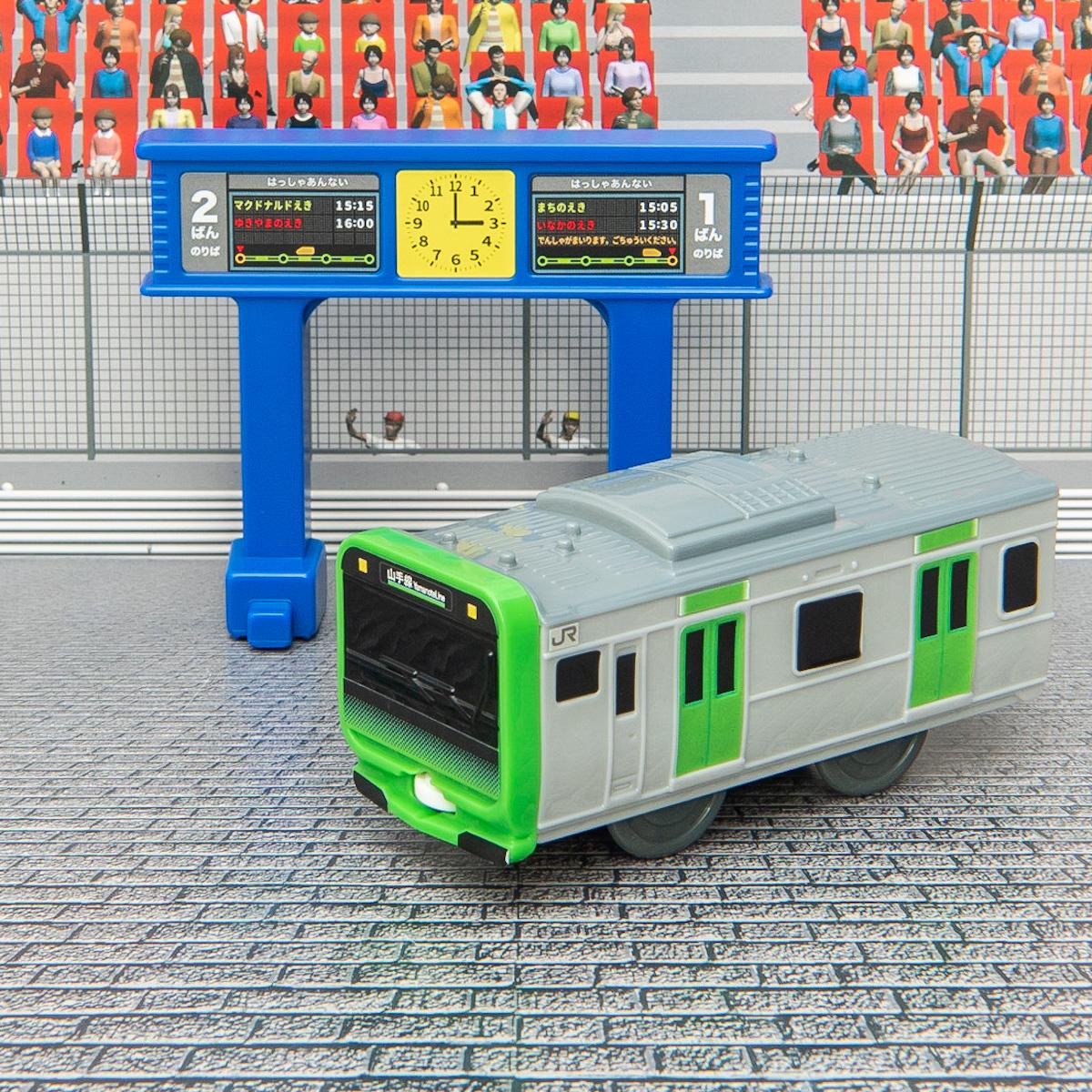 E235系山手線&発車標1