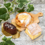 ローソン「生ガトーショコラ」「ホットケーキシュー」「カスタードを味わうパイ」2
