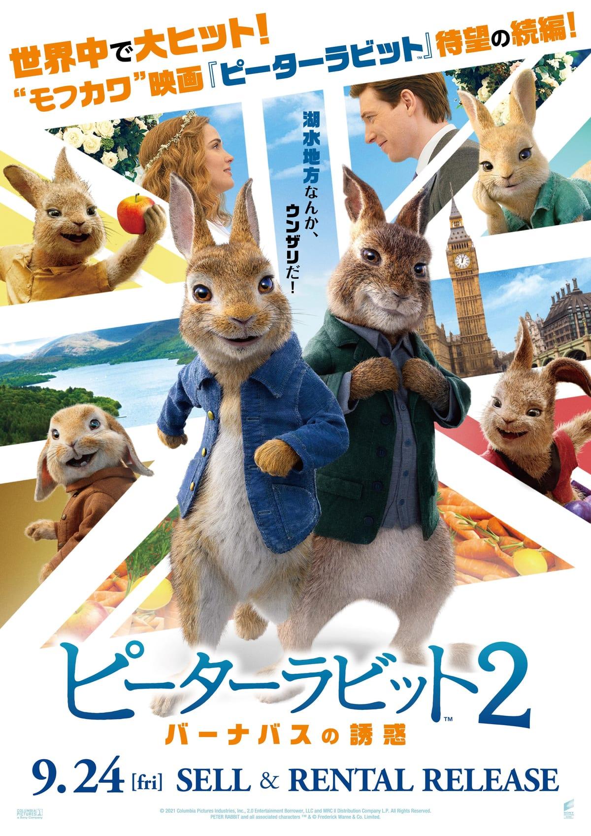 映画『ピーターラビット2/バーナバスの誘惑』作品紹介