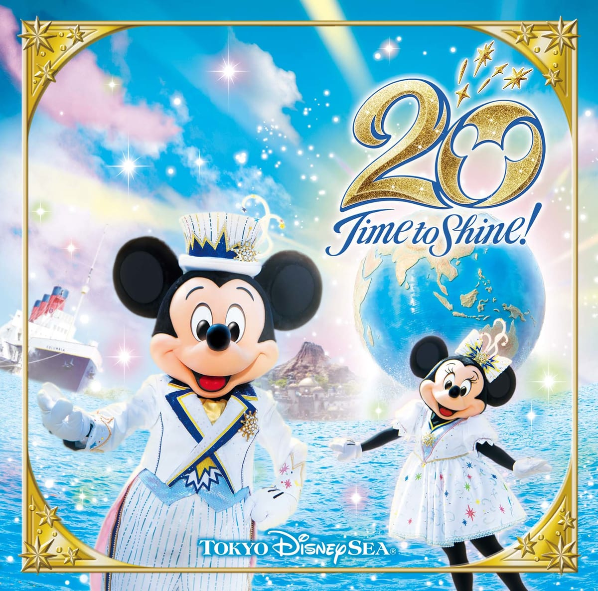 懐かしのシーズナルイベント曲から初収録楽曲まで盛りだくさん!CDアルバム「東京ディズニーシー20周年:タイム・トゥ・シャイン!ミュージック・アルバム [デラックス](3CD)」