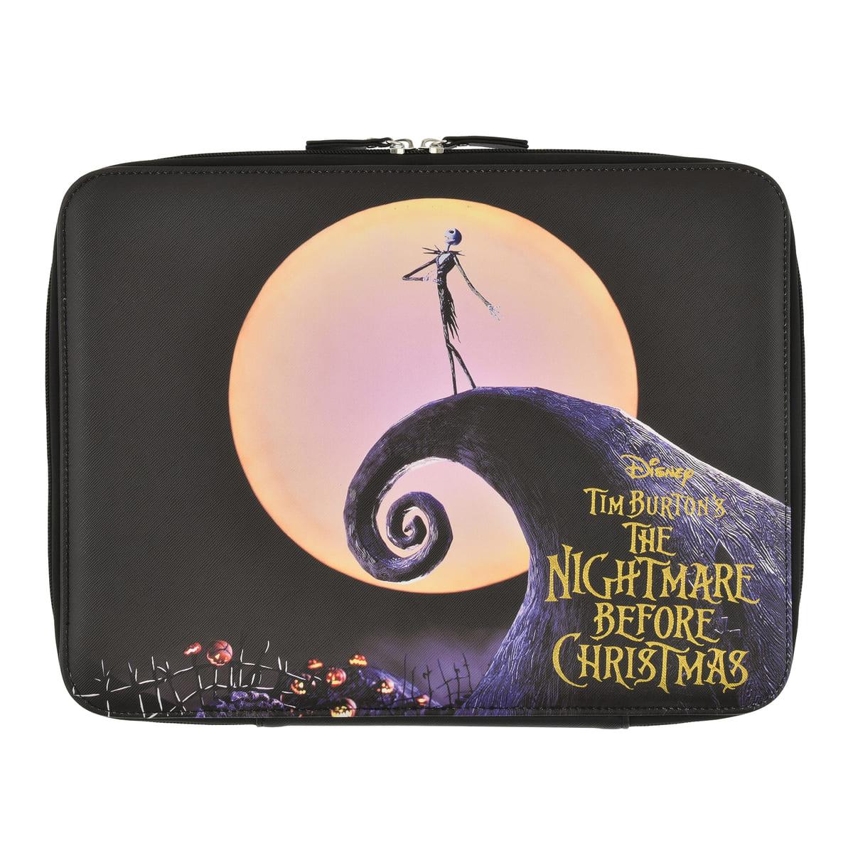 ティム・バートン ナイトメアー・ビフォア・クリスマス ノートパソコンケース リバーシブル Tim Burton's The Nightmare Before Christmas
