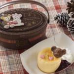 東京ディズニーシー「ダッフィー&フレンズのウォームウィンター・ストーリータイム」チーズケーキとベリーソース、スーベニアケース付き