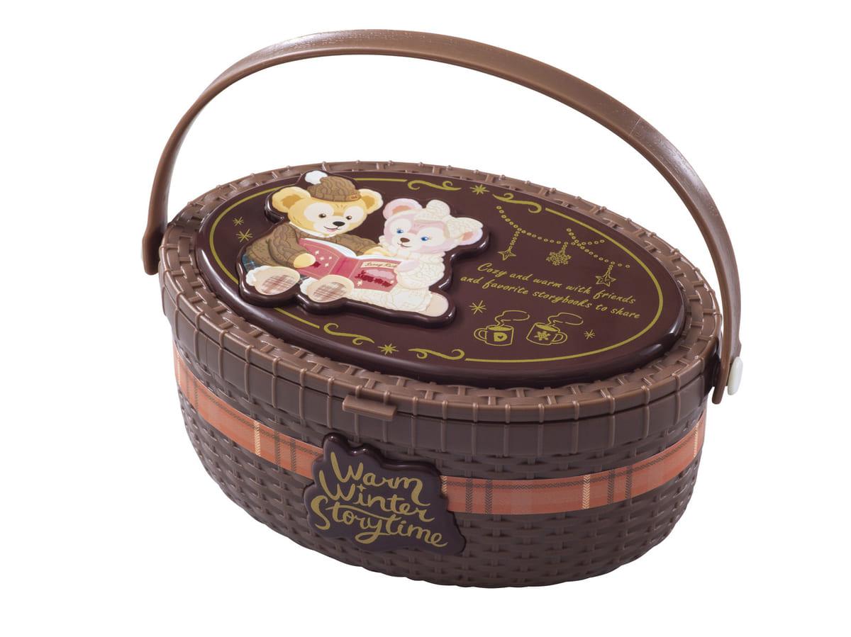 東京ディズニーシー「ダッフィー&フレンズのウォームウィンター・ストーリータイム」チーズケーキとベリーソース、スーベニアケース付き3