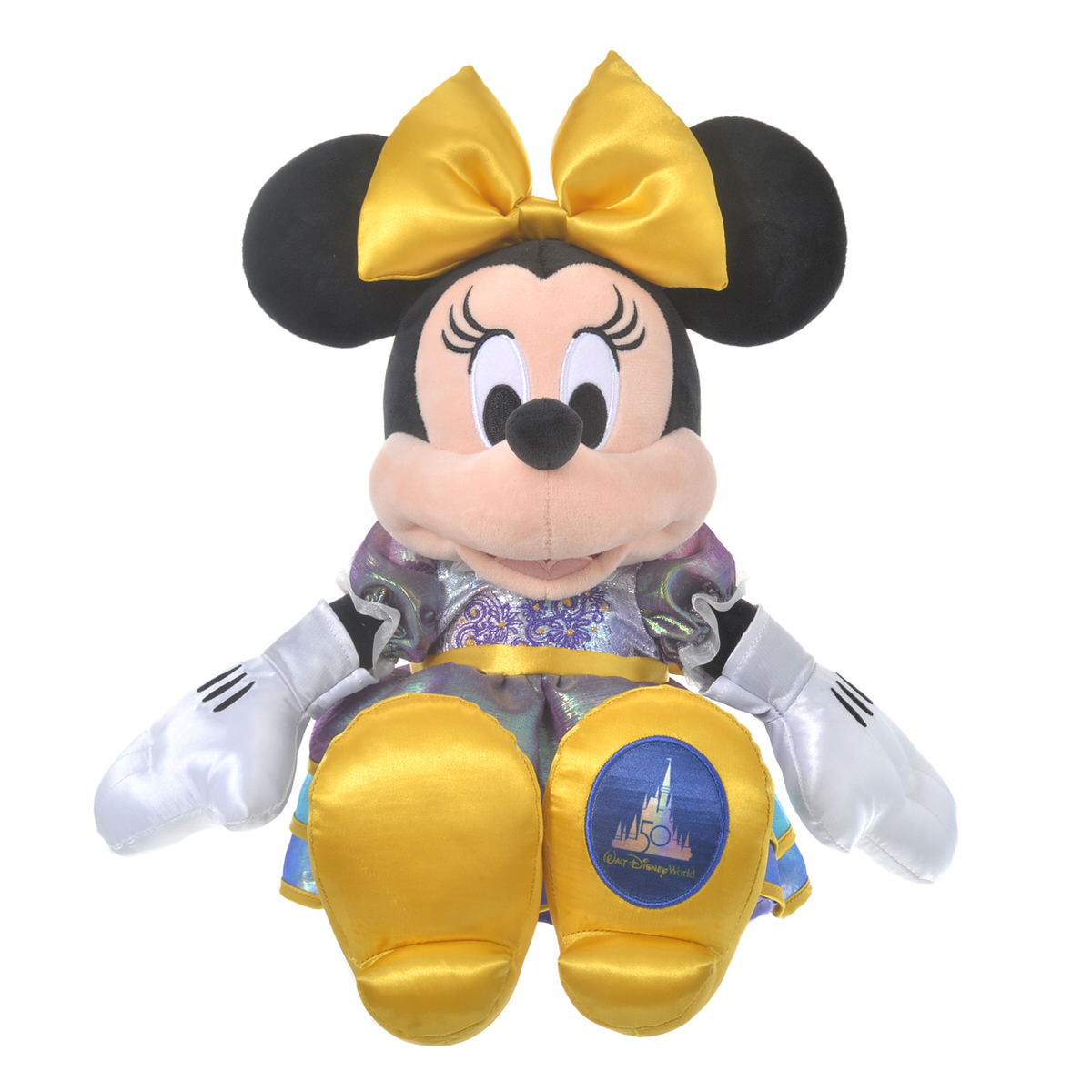 ディズニーストア「ウォルト・ディズニー・ワールド・リゾート」50周年記念グッズ ぬいぐるみ<ミニーマウス>